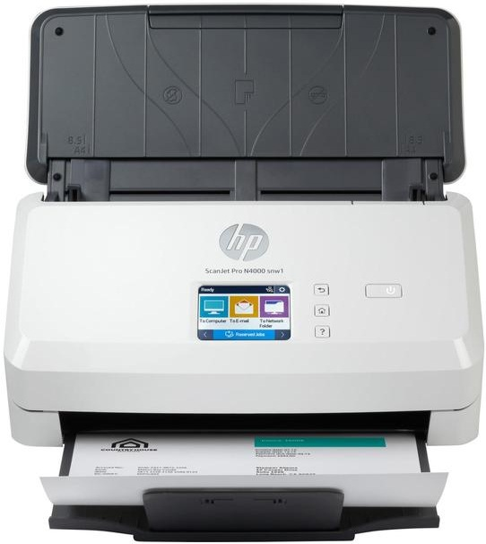 Сканер HP ScanJet Pro N4000 snw1