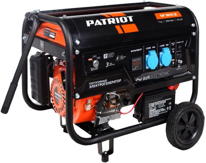 Электрогенератор Patriot GP3810LE