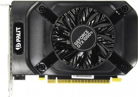 Видеокарта Palit GeForce GTX 1050 Ti StormX 4Gb OEM