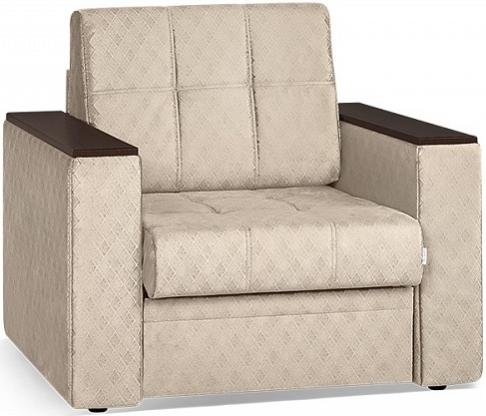 Кресло-кровать Цвет Диванов Атланта Next кремовый 108x90x94 см