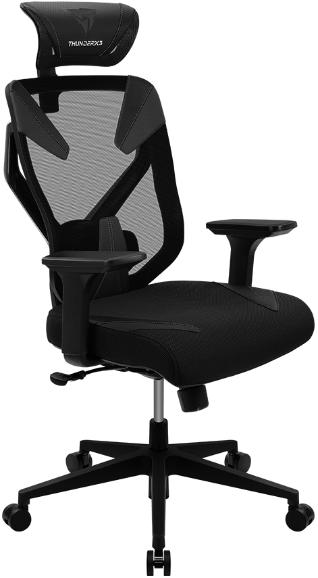 Игровое кресло ThunderX3 Yama3 черный