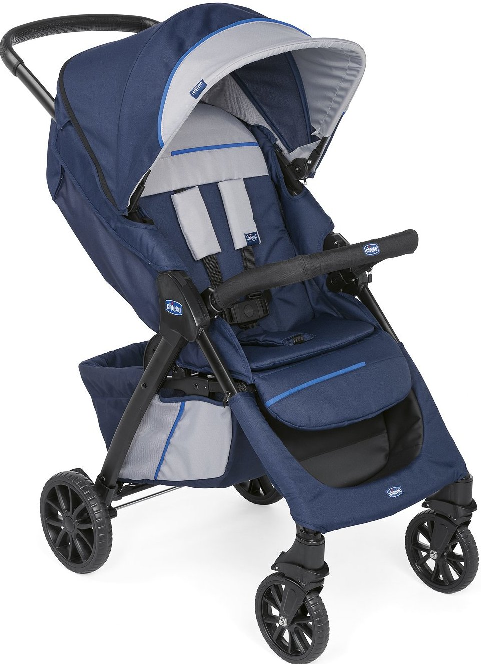 Коляска Chicco Kwik.One Stroller Bluepr…