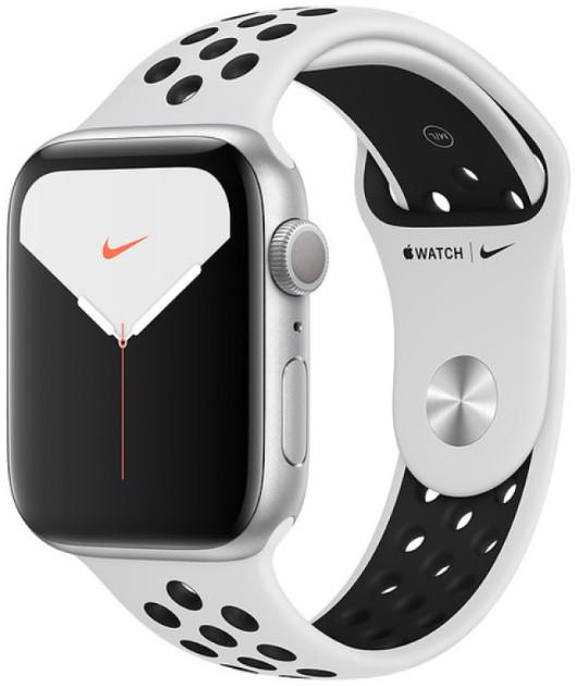Умные часы Apple Watch Nike+ Series 5 44mm MX3V2 Silver/Pure Platinum Black