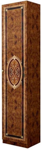 Шкаф Интердизайн Лара 57.805.N коричневый/коричневый 2102x413x580 см