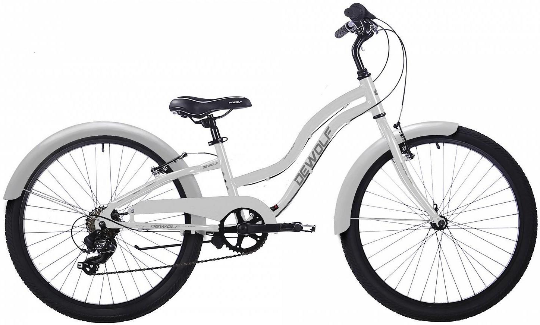 "Велосипед Dewolf Wave 250 White 24""/16"""