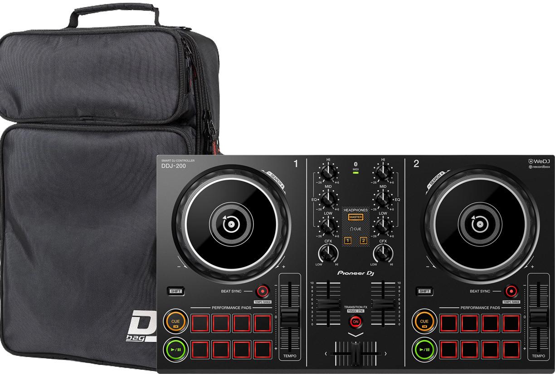 Dj-контроллер Pioneer DDJ-200 + DJ-Bag DJB Compact