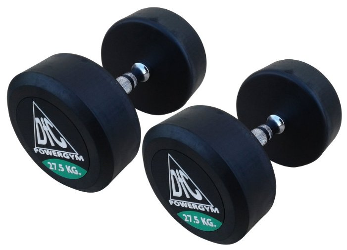 DFC Powergym DB002-27.5 пара по 27,5 кг