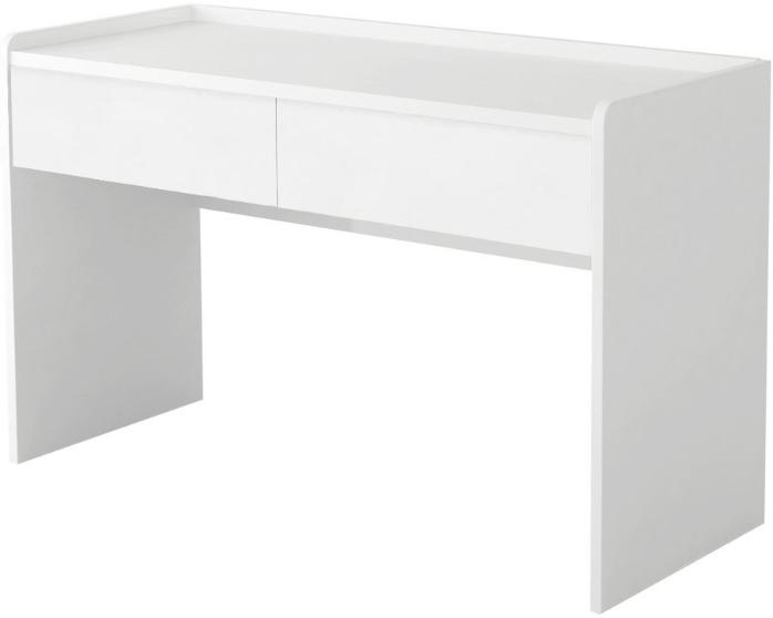 Туалетный столик Интердизайн Белла белый/белый 82x110x50 см