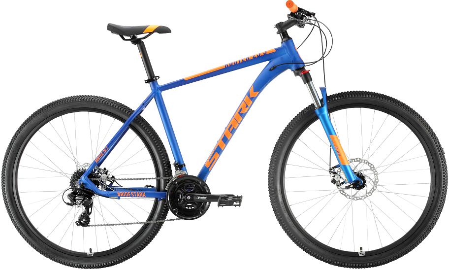 """Велосипед Stark Router 29.3 D (2020) синий/оранжевый 29""""/20"""""""