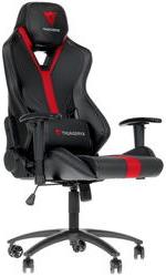 Игровое кресло ThunderX3 YC3 черный/красный