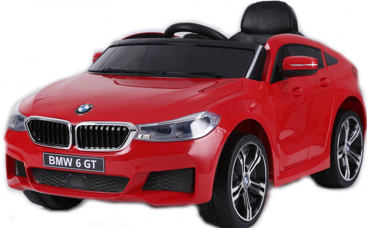 Электромобиль RiverToys BMW 6 GT JJ2164 Red