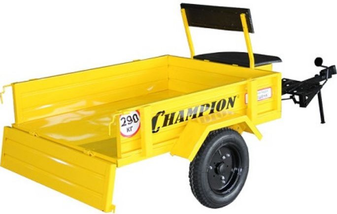 Тележка прицепная Champion ТП-290