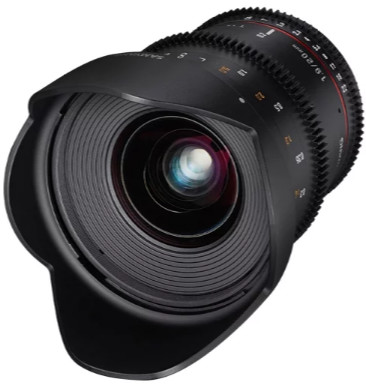 Объектив Samyang MF 20mm T1.9 ED AS UMC VDSLR Sony E NEX Black