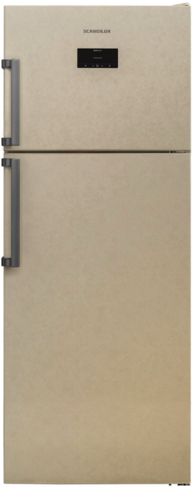 Холодильник Scandilux TMN 478 EZ B Beigh Marble