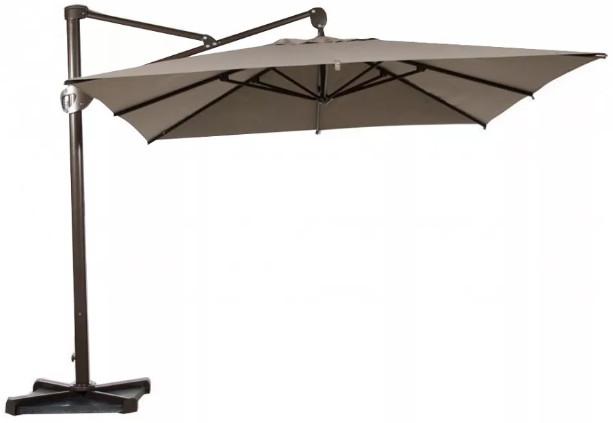 Зонт от солнца Афина-Мебель AFM 2.4x3.3 м бежевый