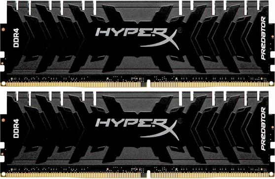 Память Kingston HyperX Predator DIMM DDR4 2x16Gb 2400MHz