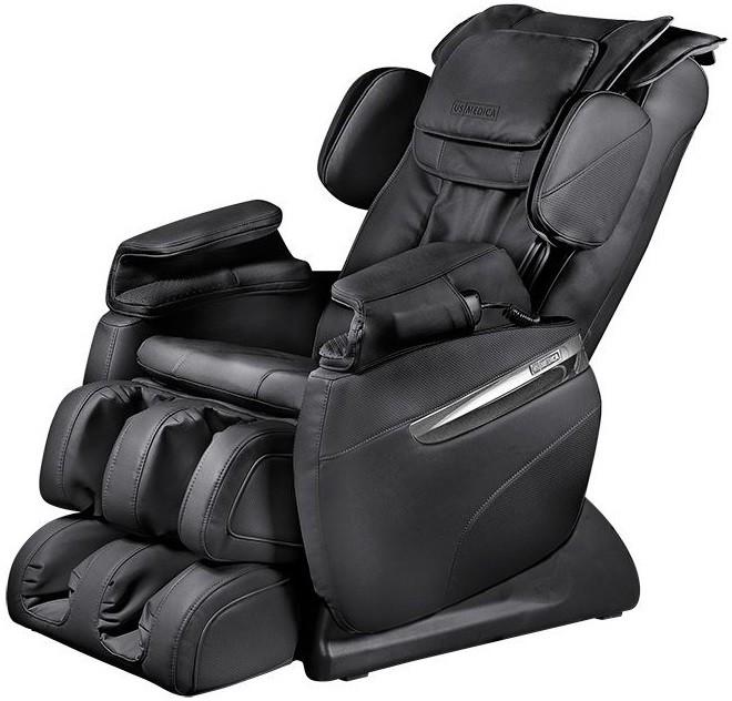Массажное кресло US Medica Quadro Black