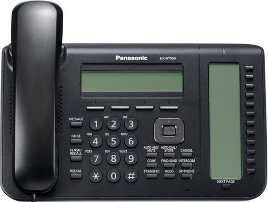 IP-телефон Panasonic KX NT553 Black