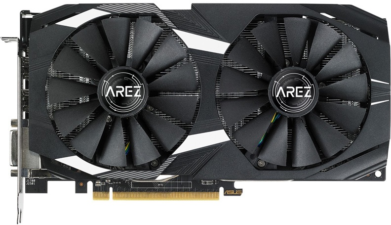 Видеокарта Asus Radeon RX 580 Arez Dual OC 8Gb