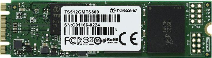 Твердотельный накопитель Transcend MTS800 512Gb/SSD/M.2