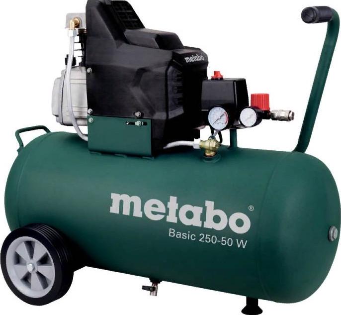 Поршневой компрессор Metabo Basic 250-50 W OF