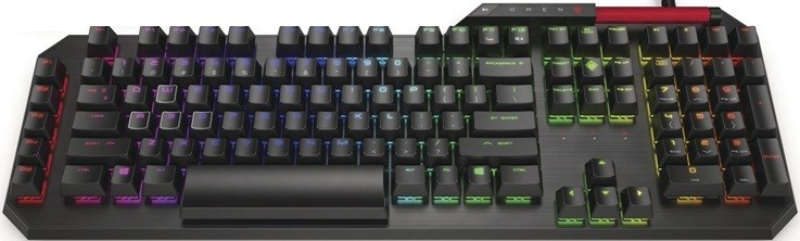 Клавиатура HP Omen Sequencer USB Black