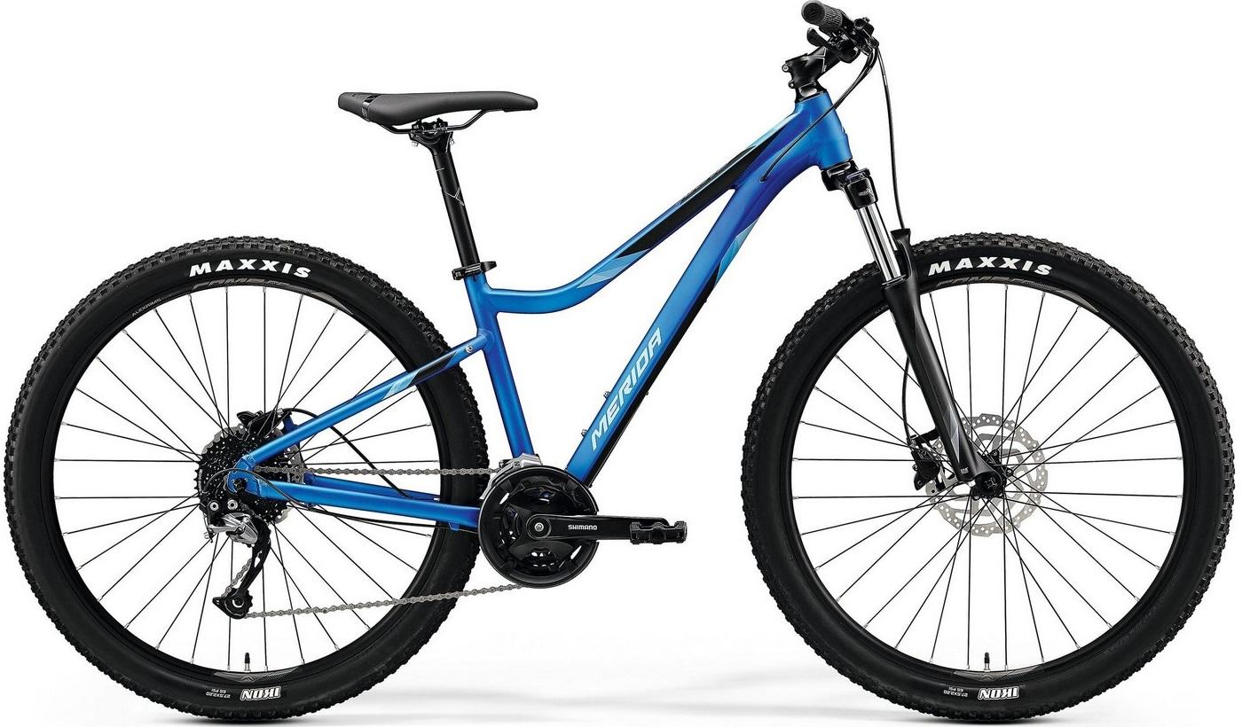 """Велосипед Merida Matts 7.100 (2020) голубой 27.5""""/15"""""""