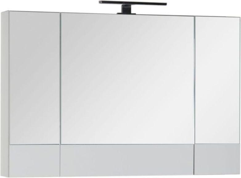 Зеркало-шкаф Aquanet Верона 100 белый 100x67x14 см