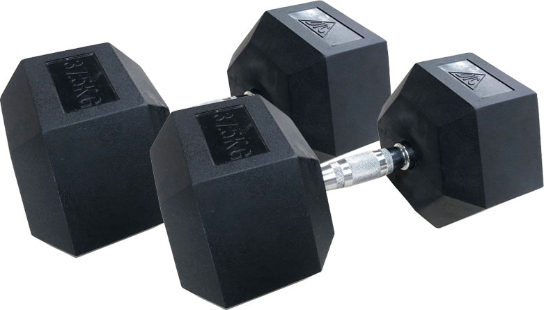 Гантели DFC DB001-37.5 пара по 37.5 кг