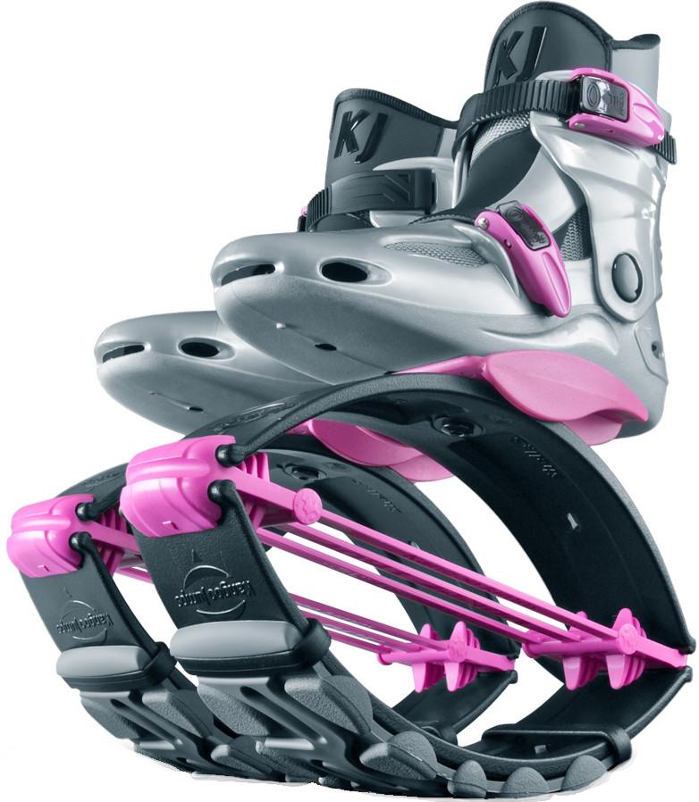 Джамперы Kangoo Jumps KJ-PowerShoe SE Silver/Pink (размер 32-35)