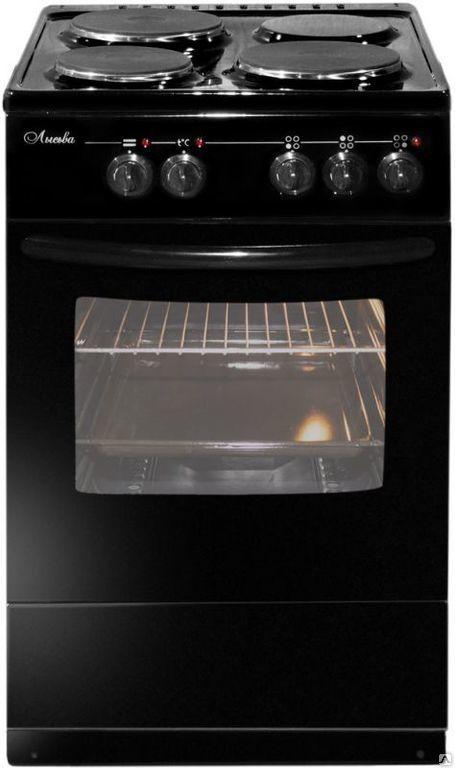 Плита Лысьва ЭП 301 М2С черный, с крышк…