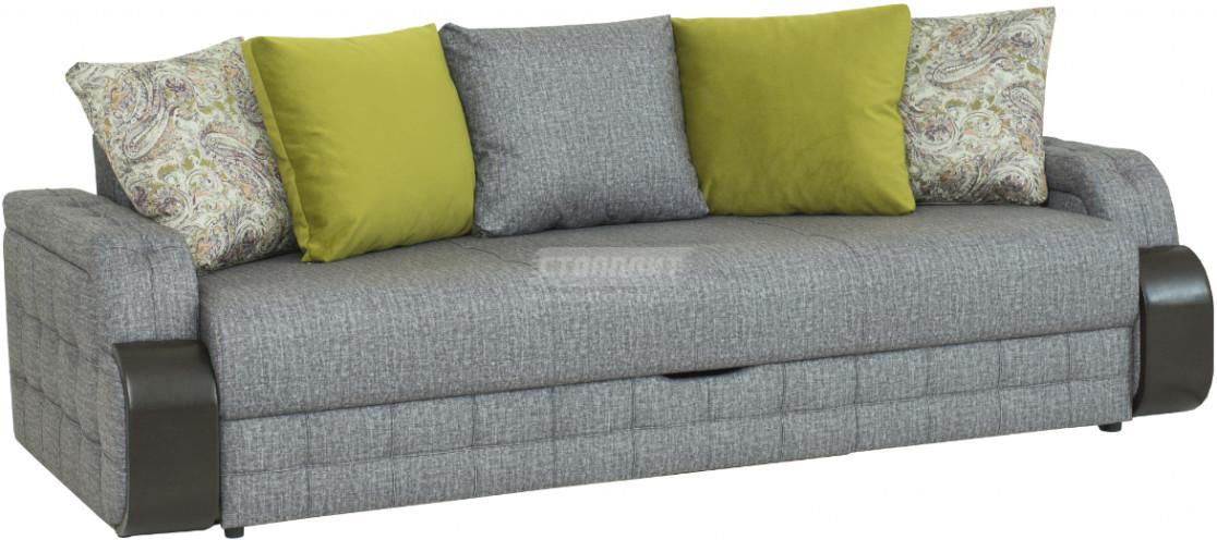 Диван-кровать Столплит Антей БД серый 243x111x89 см
