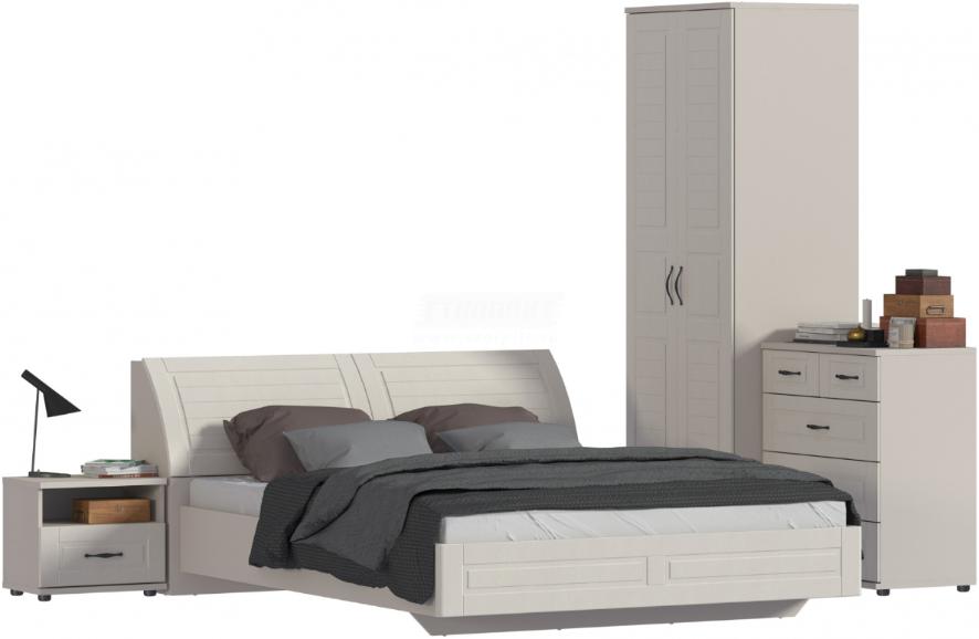Спальня Столплит Сити 129-262-944-2947 бежевый песок/кофе
