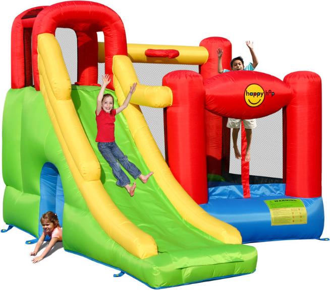 Надувной батут Happy Hop Игровой центр 6в1