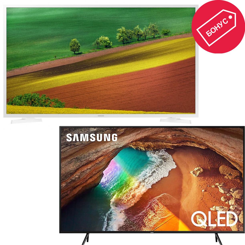 Телевизор Samsung QE55Q60RAU + Samsung …