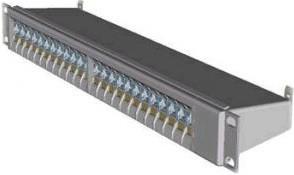 Коммутационная панель AMP 19 1U 24xRJ-45xLAN