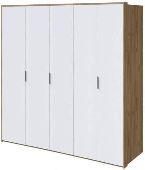Шкаф Интердизайн Тоскано дуб крафт/белый 2209x2320x599 см