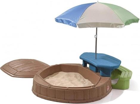 Песочница Step2 (со столиком)