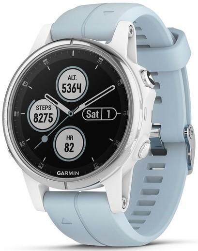 Умные часы Garmin Fenix 5S Plus White/B…