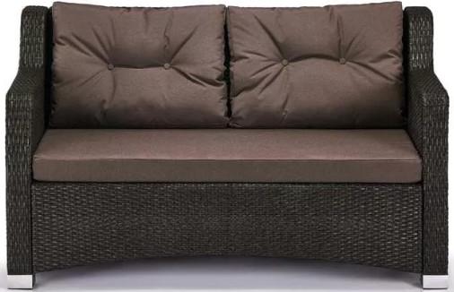 Диван Афина-Мебель S51A-W53 коричневый