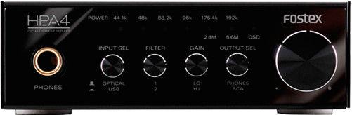 Усилитель Fostex HP-A4 Black