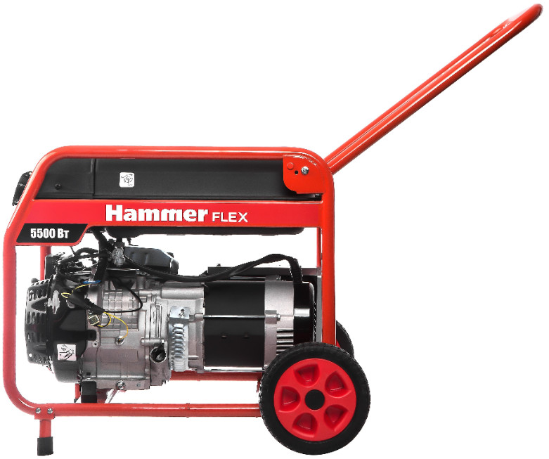 Бензогенератор Hammer GN6000T