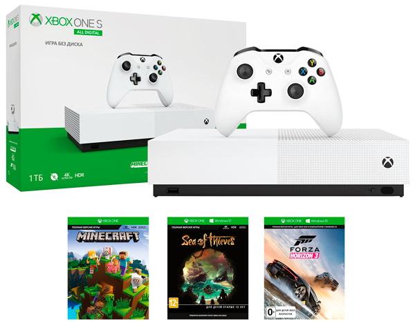 Игровая приставка Microsoft Xbox One S …