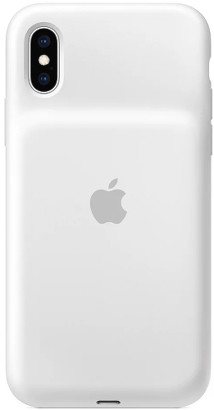 Чехол-аккумулятор Apple iPhone XS Smart Battery Case 1369 mAh White