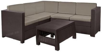 Комплект мебели Keter Provence коричневый/серый/бежевый