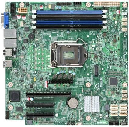 Материнская плата Intel DBS1200SPLR LGA 1151