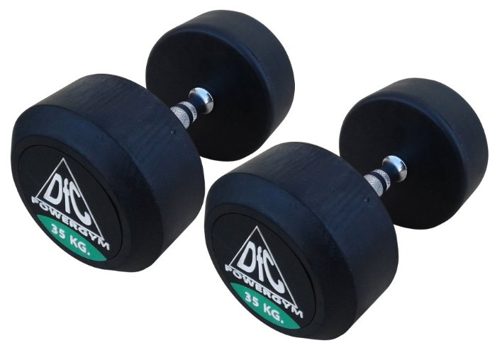 Гантели DFC Powergym DB002-35 пара по 35 кг