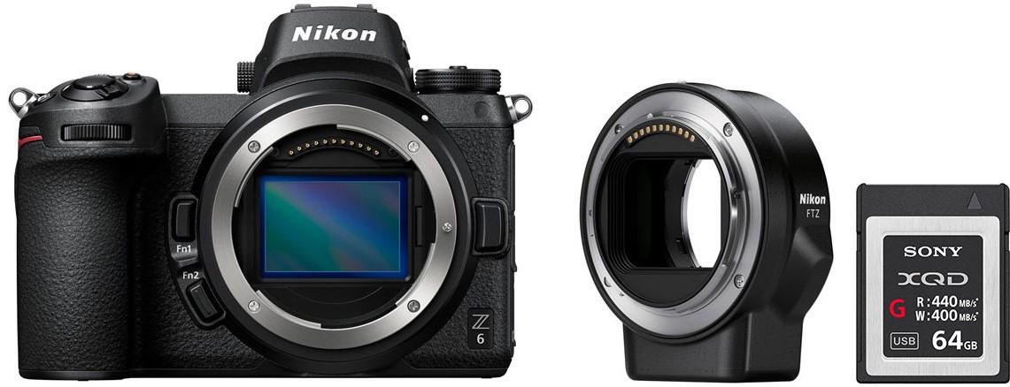 Фотоаппарат Nikon Z6 Body + FTZ Adapter…