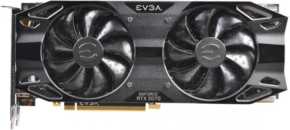 Видеокарта EVGA GeForce RTX 2070 XC Bla…