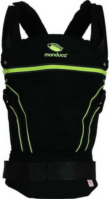 Эргорюкзак Manduca BlackLine Green New